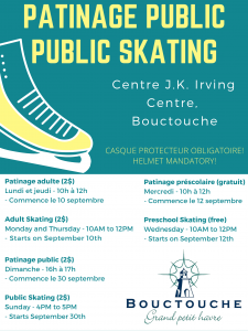Patinage public 2018